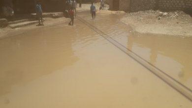 Photo of بالصور.. كسر في ماسورة مياه يغرق منطقة سنترال القرنة بغرب الأقصر