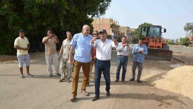 """Photo of """"بدر"""" يصدر قرارًا بإنشاء محطة انتظار وحدائق بشارع مركز البياضية"""