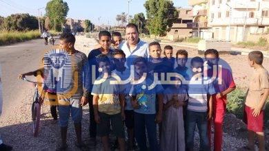 Photo of لموقفه معهم.. أطفال البياضية يلتقطون الصور التذكارية مع محافظ الأقصر