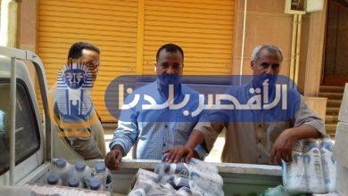 Photo of ضبط 1500 عبوة عصائر وألبان منتهية الصلاحية بالأقصر