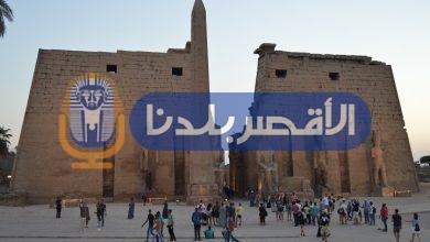Photo of بالصور.. توافد الآلاف  على معابد الأقصر احتفالًا بثاني أيام العيد