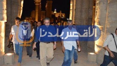Photo of تفاصيل زيارة وزير الآثار لمعبد الأقصر