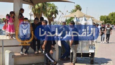 Photo of بالصور.. ارتفاع درجات الحرارة لم يحرم أهالي الأقصر من فرحة العيد