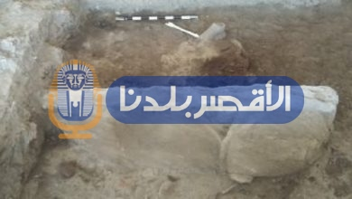 "Photo of ننشر موعد إستخراج تمثال ""أبو الهول"" المكتشف بطريق الكباش بالأقصر"