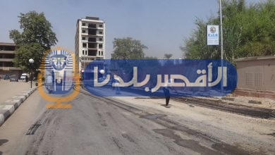 Photo of إستكمال أعمال رصف وتطوير ورفع كفاءة شارع خالد بن الوليد بالأقصر