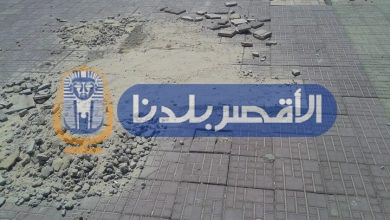 Photo of بالصور.. الأقصر تستعد للموسم السياحي بتشويه مظهر كورنيش النيل