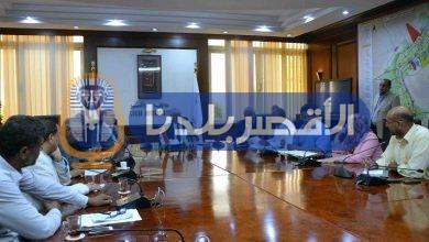 """Photo of """" ألهم"""" يجتمع بقيادات الرى لمتابعة المشروعات واستعدادات السيول"""