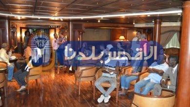 """Photo of بالصور.. """"زين العابدين"""" يرحب بوفد الشباب العربي ودول حوض النيل الأقصر"""