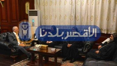 Photo of بعد 20 يومًا.. آباء دير ماري جرجس يهنئون محافظ الأقصر بتوليه المنصب