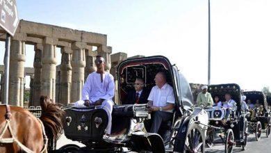 Photo of جولة بالحنطور في شوارع الأقصر لأعضاء الاتحاد الدولي للطيران بختام عموميتهم