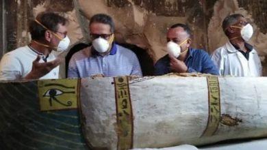 Photo of التليفزيون الصينى يبرز الكشف الأثرى الأخير فى الأقصر