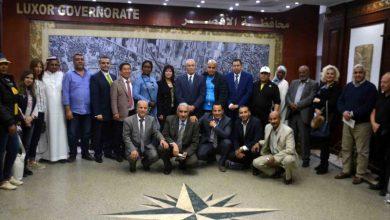 Photo of محافظ الأقصر يستقبل وفدالمستثمرين العرب والأفارقة والدول الأوروبية