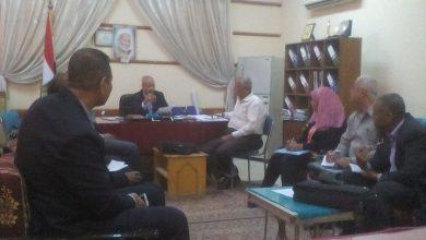 """Photo of """"عبد اللطيف"""" يجتمع بمديري ادارات """"تعليم الأقصر"""" لمتابعة سير الدراسة"""