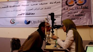 "Photo of ""عينك في عنيا"" تنجح في الكشف على 625 مواطن بقرية الصعايدة في الزينية"