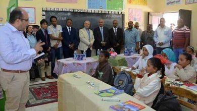 """Photo of """"الهم """" يتابع تنفيذ مشروع القرية الذكية بالطود"""