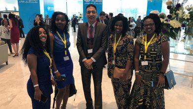 """Photo of أقصري يقترح إنشاء منظمة """"الأمم المتحدة الافريقية"""" في مشاركته بمنتدى شباب العالم 2018"""
