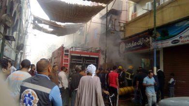 Photo of بالصور.. السيطرة على حريق شب في سوبر ماركت وسط الأقصر