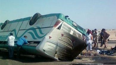 Photo of تفاصيل إصابة 34 سودانيًا في انقلاب أتوبيس بالأقصر