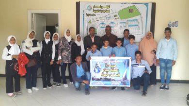Photo of مدرسة الري الإعدادية تطلق مبادرة نقطة مياه تساوي حياه
