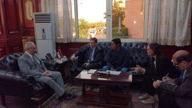 Photo of قنصل فرنسا بالقاهرة يزور الأقصر لعمل جولة سياحية