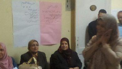 """Photo of رئيس المتابعة بـ""""التعليم"""" تجتمع بأولياء أمور مدرسة """"أبو بكر للغات"""" لحل المشاكل التي يواجهها الطلاب"""