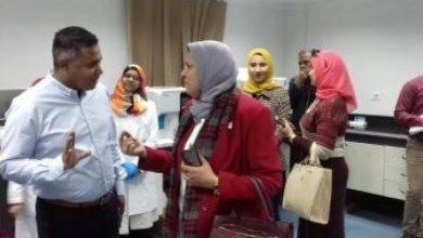 Photo of وفد من قيادات وزارة الصحة يزورون مركز تحيا مصر لعلاج فيروس سي اليوم