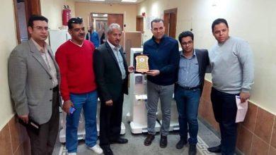 """Photo of """" شركة النيل """"..تتبرع بعدد5ماكينات غسيل كلوي لمستشفي القرنة ومستشفي البياضية المركزي بالأقصر"""
