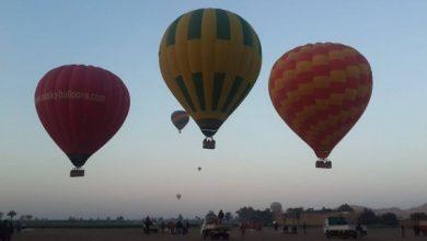 Photo of 28 رحلة بالون طائر تحلق في سماء الأقصر