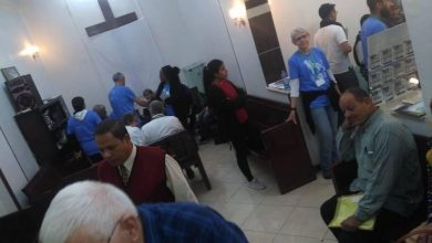 "Photo of ""صحة الأقصر""توقف قافلة طبية تضم أعضاء هيئة تمريض اجنبية لأمراض العيون والأسنان"