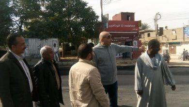 """Photo of """"العياد"""" يتفقد أعمال رصف شارع المستشفى المركزي بالعديسات بحري """"صور"""""""