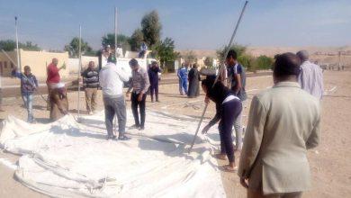 """Photo of """"صور"""" مدينة الطود أول من تنفذ تجربة """"صقر38"""" لمواجهه أخطار السيول بالأقصر"""