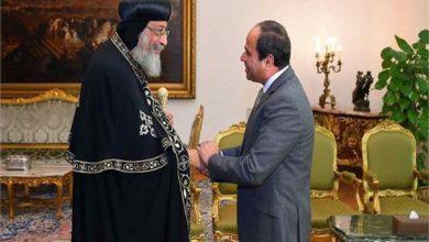 """Photo of """"السيسى""""..يهنئ البابا تواضروس بعيد الميلاد المجيد"""