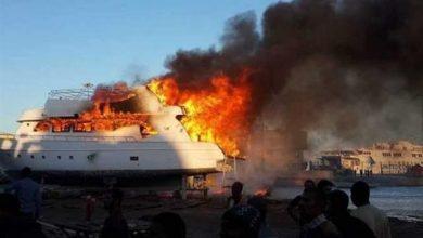 Photo of حريق في مركب ماجيك 2 بمرسي مدينة اسنا