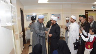 Photo of الداعية الإسلامي الحبيب عمر بن حفيظ يقدم ندوة دينية لمرضي السرطان بمستشفي شفاء الأورمان بالأقصر