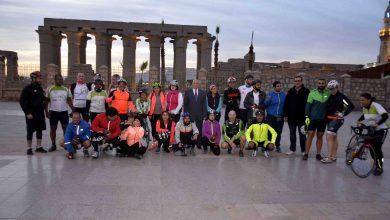 """Photo of """"الأقصر""""..تستقبل اليوم 40 دراجا من رحلة للمبادرة العالمية لركوب الدراجاتGBI"""