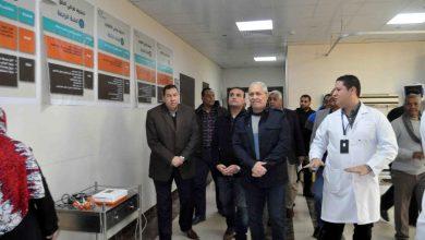 """Photo of """"بالصور""""..ألهم في جولة تفقدية لمستشفى أرمنت التخصصي لمتابعة إنتظام العمل داخلها"""