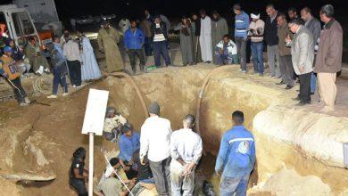 Photo of بالصور.. شركة مياة الأقصر تنهى أعمال إصلاح خط صرف 900م بعد كسر مفاجئ بأرمنت