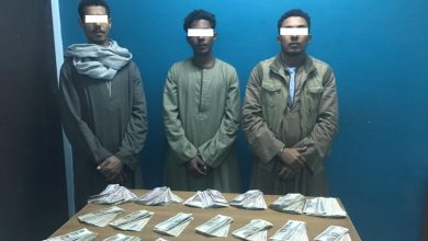 Photo of ضبط ثلاثة من مرتكبى واقعة سرقة سيارة ومبلغ مالى بالإكراه بالأقصر