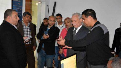 """Photo of """"ألهم"""" يتابع مشروع تطبيق """"luxor go"""" الإلكترونى لتسهيل حركة النقل بالمحافظة """" صور"""""""
