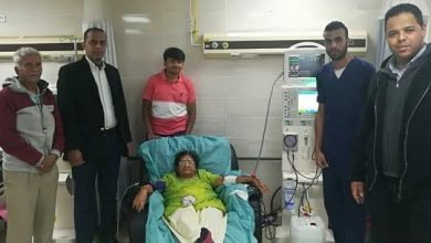Photo of هندية تشيد بالمستوى الطاقم الطبي بالمستشفى الأقصر العام