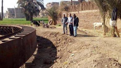 Photo of بدء العمل بمحطة الرفع الرئيسية بقرية الزينية شمال الأقصر