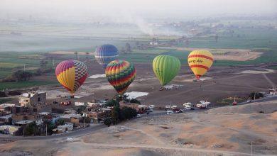 "Photo of ""مطار بالون الأقصر""..يعلن الغاء 25رحلة بالون صباح اليوم"