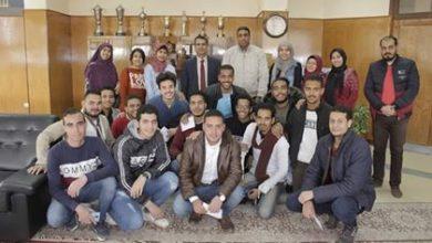 "Photo of ""أحمد خليفة""..مراسل ""الأقصر بلدنا""ضمن افضل مراسلى جامعة جنوب الوادى بمسابقة "" أبداع 7″"