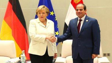 Photo of تلقى الرئيس عبد الفتاح السيسي بعد ظهر اليوم اتصالاً هاتفياً من المستشارة الألمانية أنجيلا ميركل.