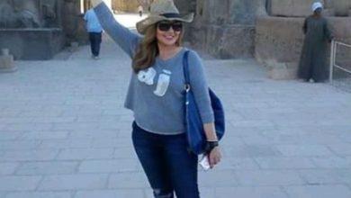 """Photo of """"ليلى علوى """"ضمن وفد للكشف عن مقبرة أثرية فى الأقصر"""