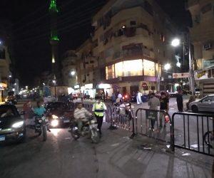 تنظيم حركة السير المرورية