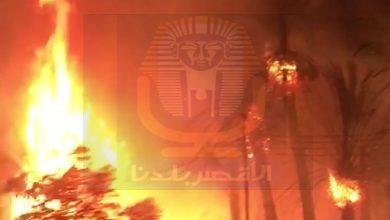 Photo of #بالصور السيطرة على حريق هائل بمقابر المسيحيين القديمة بالكرنك .